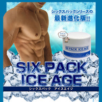 Hot Japan Six Pack Ice Age Gel DIET SUPPORT MASSAGE GEL FOR BODy Volume Up 200g