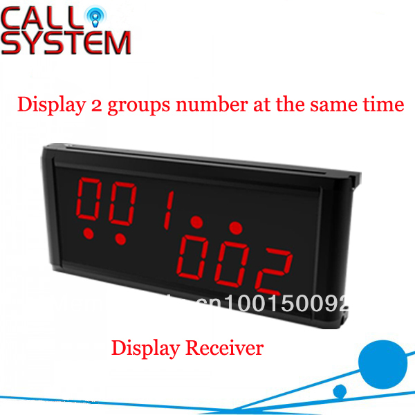 Wireless Calling System Receiver K-236 ; Can show service type and Show 2 groups of number at the same timeWireless Calling System Receiver K-236 ; Can show service type and Show 2 groups of number at the same time