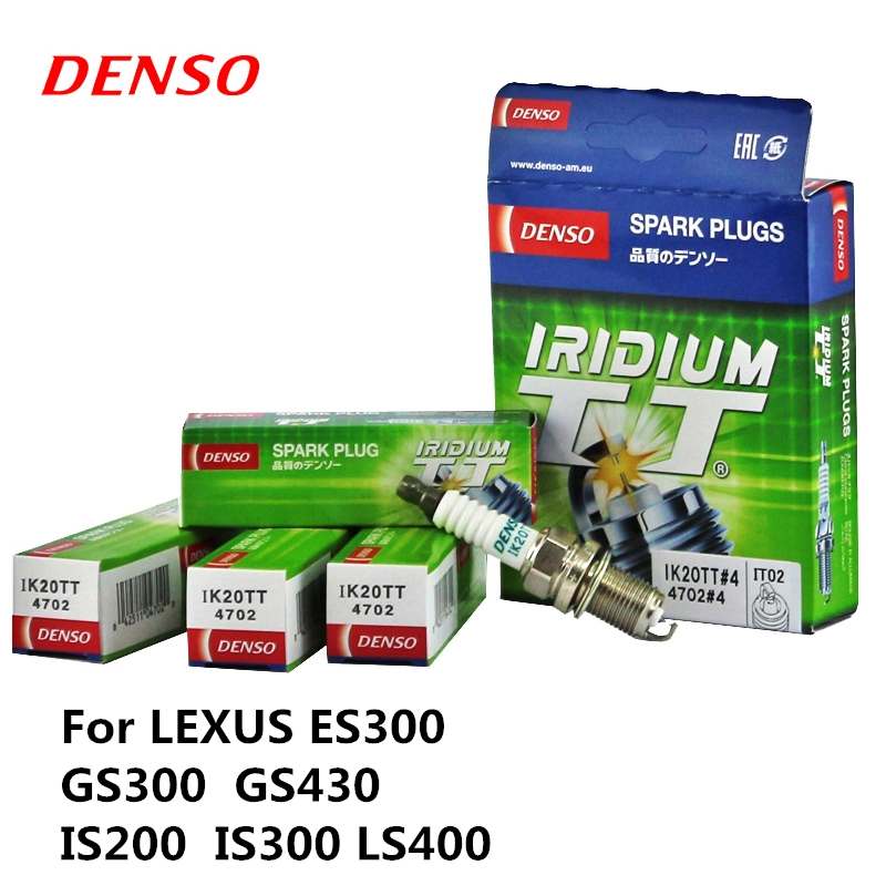 DENSO Car Iridium Spark-Plug Platinum LS400 IK20TT IS200 Lexus Es300 GS430 for Gs300/Gs430/Is200/.. title=