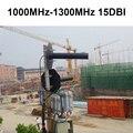 1100-1300 мГц 15dbi антенна передатчика Пропускная Способность 300 МГц направленная антенна передачи для cctv водонепроницаемый 1.2 Г антенны