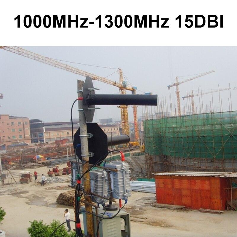 1100-1300 mhz 15dbi antenna trasmittente Larghezza di Banda 300 MHz antenna di trasmissione per cctv impermeabile 1.2G antenna direzionale1100-1300 mhz 15dbi antenna trasmittente Larghezza di Banda 300 MHz antenna di trasmissione per cctv impermeabile 1.2G antenna direzionale