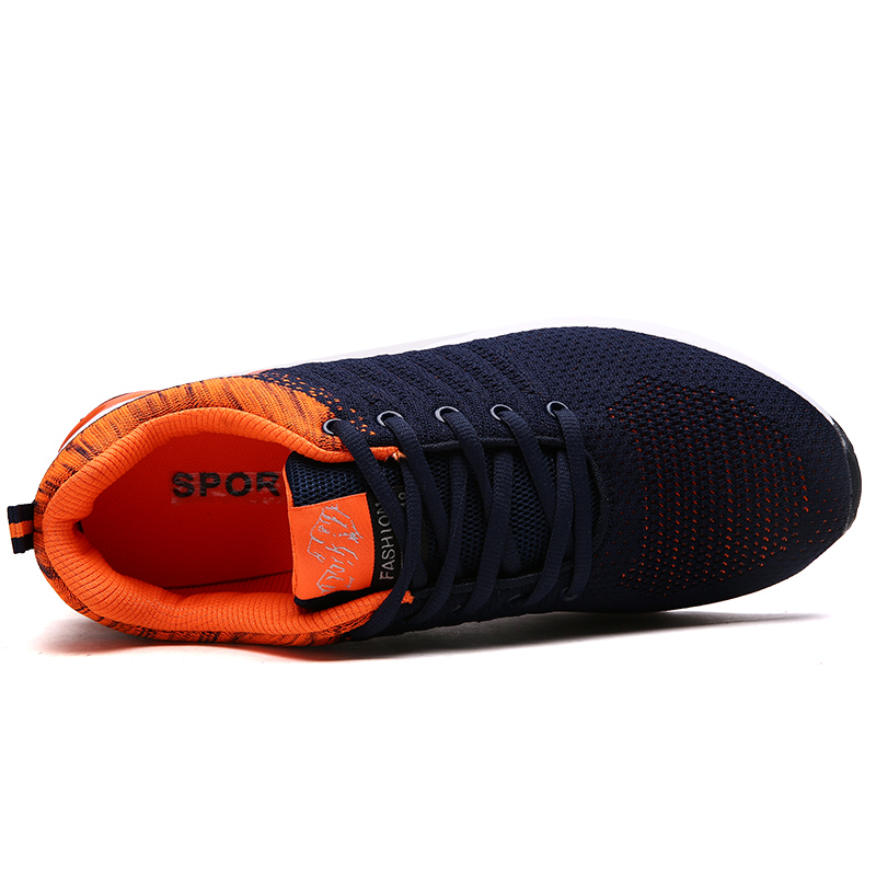DR. Орел летние мужские кроссовки flyknit с дышащей сеткой амортизацию человек спортивная обувь мужчины кроссовки тапки корзины homme
