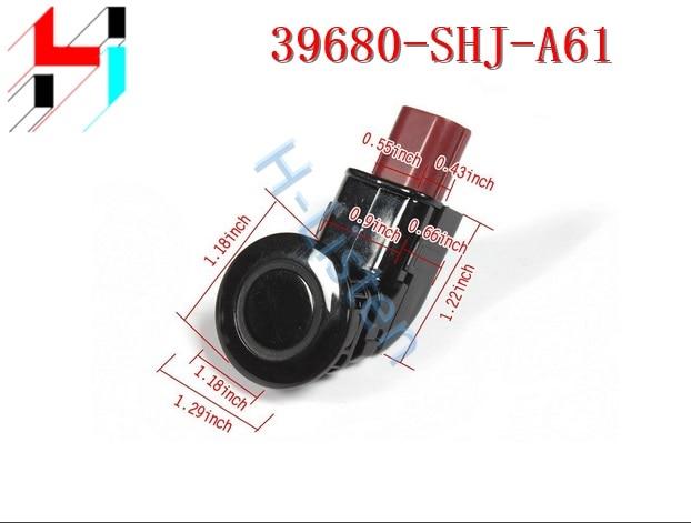 10pcs New Black PDC Back Up Parking Sensors 39680SHJA61 39680 SHJ A61 Fit for Honda