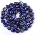 "Frete Grátis 5x7-7x9mm Beleza Colar Bracelat Freeform Azul Lapis Lazuli Pedras Para DIY Jewelry Making Contas Loose Strand 15"""