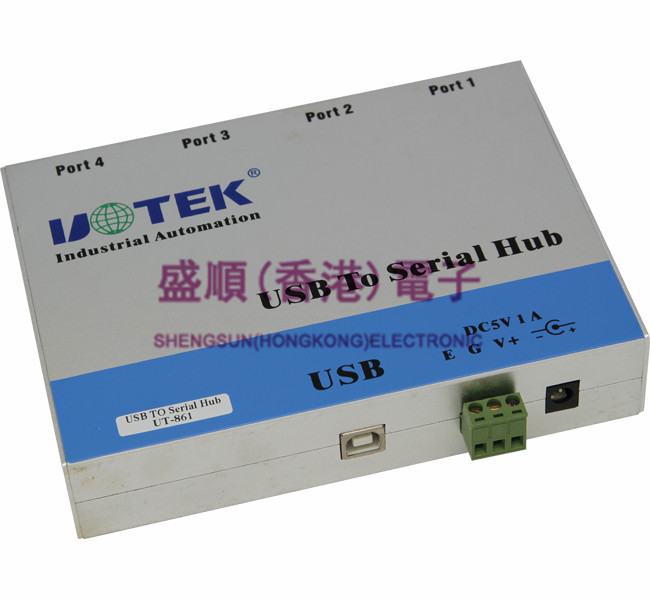 UT-861 USB To RS-485/422 Four Photoelectric Isolation Converter VER 2.0
