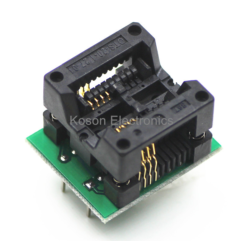 Wholsale Universal Adapter Sockets SOP8 SOP 8 to DIP8 DIP 8 for all Programmer 200 208 mil 4863g tda4863g sop 8