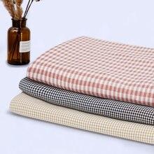 Tecido de algodão de poliéster xadrez de tecido de xadrez de algodão de fios tingidos para camisa de homem e camisa de vestido de mulher tj0078