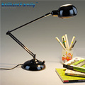 Metal long arm folding led eye study desk lamp learning work office creative reading lamp flexible LED simple modern fashion