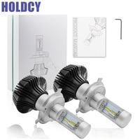 HoldCY H4 Hi Lo Beam LED Car Headlight Bulb 80W 6500K 8000lm Auto Led Headlamp Fog
