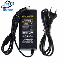 SSICON 2Pieces 12V 5A 60W Power Supply Transformer Switch AC100-240V to DC12V Power Adapter For Security System