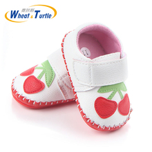 1 Pair Fashion Cotton Cloth First Walker Cartoon Baby Boy Girls Shoes Bebe Toddler Moccasins 0-24M Non-slip Soft Bottom