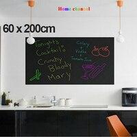 Wall Stickers Blackboard Children Drawing Toy Vinyl Chalkboard 60 200CM