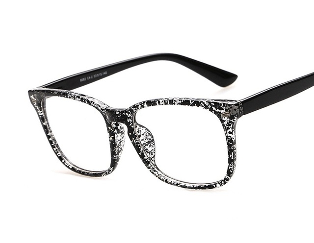 Cheap designer eyeglasses frames retro glasses large frame ...