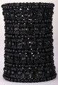Многослойной стрейч браслет-манжета женщины кристалл свадебные ювелирные изделия B11 5 СТРОКИ серебряный позолоченный оптовая челнока