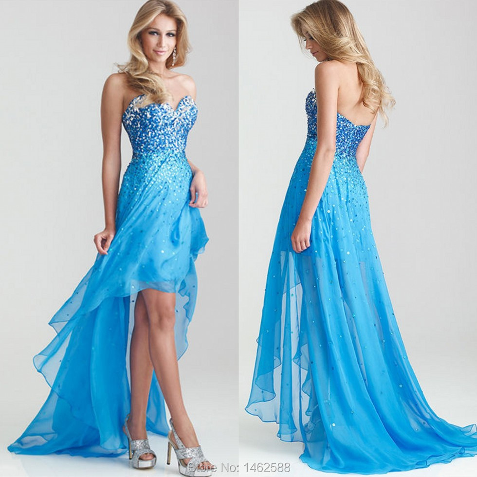 Best Prom Dresses Short In Front Long In Back Pictures - Styles ...