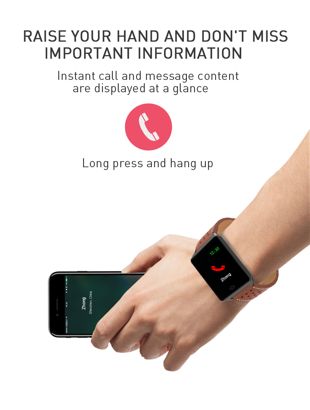 CK19 Smartwatch IP67 Waterproof Wearable Device Bluetooth Pedometer Heart Rate Monitor Color Display Smart Watch For AndroidIOS (6)