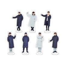 KPOP BTS Bangtan Boys ARMY Winter Album Cartoon Desktop Decoration Acrylic Plastic Cases Displays ZP027