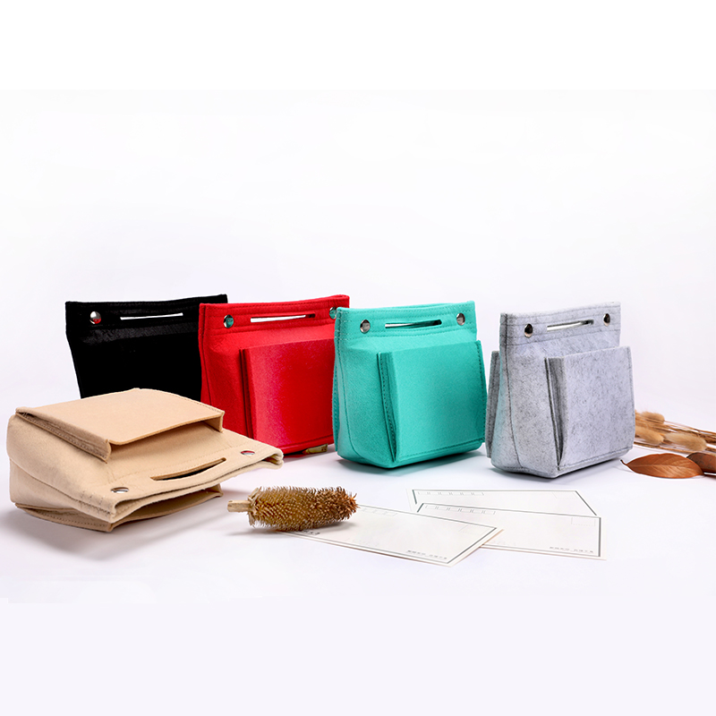 Harphia File Bag  Folders Felt Inner-bag Makeup Bag Arrange Organizer