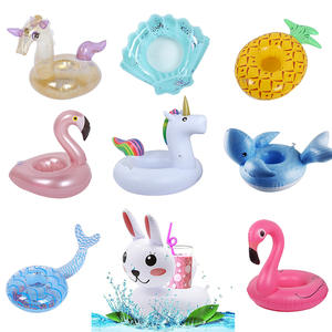 Summer Toys Float-Cup Swimming-Pool-Game Inflatable-Drink-Holder Flamingo Party Gonflable