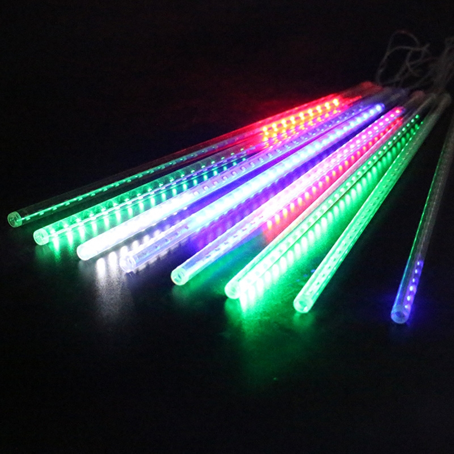 Outdoor 8 Tubes String 50CM 3528 SMD Meteor Shower Light LED Light Party Lamp