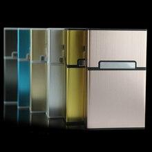 Модный креативный чехол для сигарет, коробка для сигарет, Подарочная коробка из алюминиевого сплава, аксессуары для сигарет, зажигалки и ак...