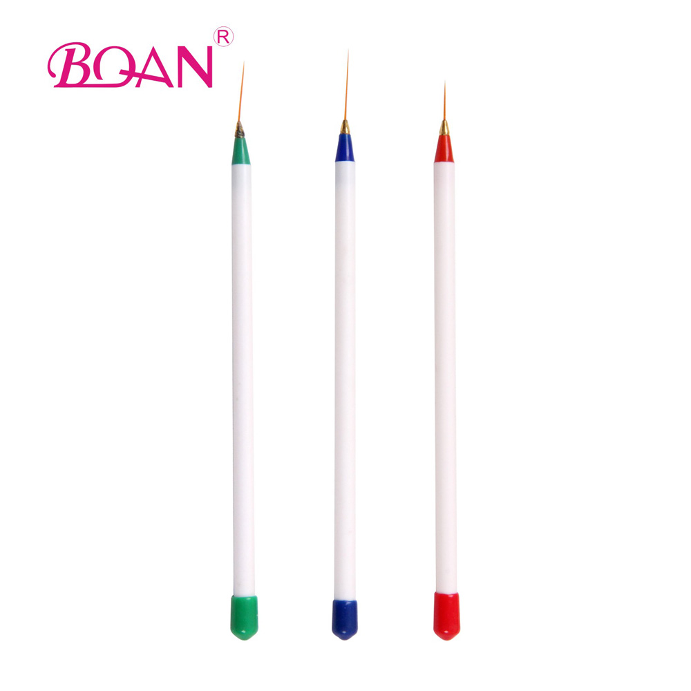 New Wholesale Free Shipping New Brand Nail Art Striper Brush Liner Nail Art Single Brush
