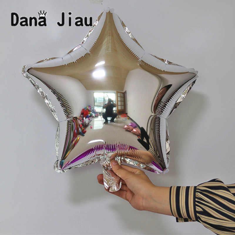 36 אינץ כסף ורוד ירח בצורת רדיד בלון חתונת מסיבת יום הולדת קישוט חג אוויר בלוני אירוע כוכב Baloon ילדים צעצוע