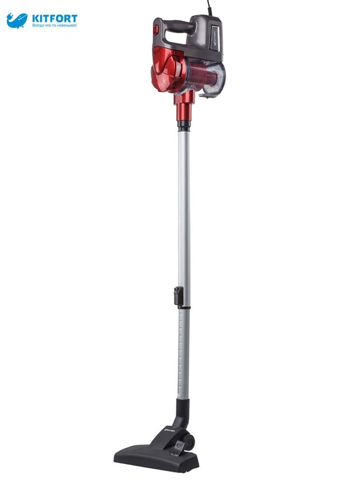 Upright vacuum cleaner Kitfort KT-513 hoover convertable upright vacuum back handle plate