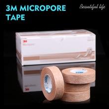 3M Micropore Tape lashes eyelid tape lash eyelash tape  Extensions Tools Gentel On Skin apprication anti-allergy tape 1533