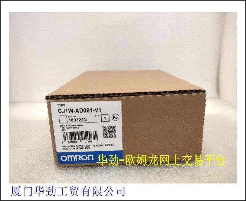 CJ1W-AD081-V1 OMRON analog input unit original genuine new spotCJ1W-AD081-V1 OMRON analog input unit original genuine new spot