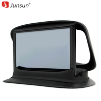 Junsun 7 Universal Car Gps Car Mount Sunshield Holder Support Gps Voiture Bracket Navigation Silicone Base