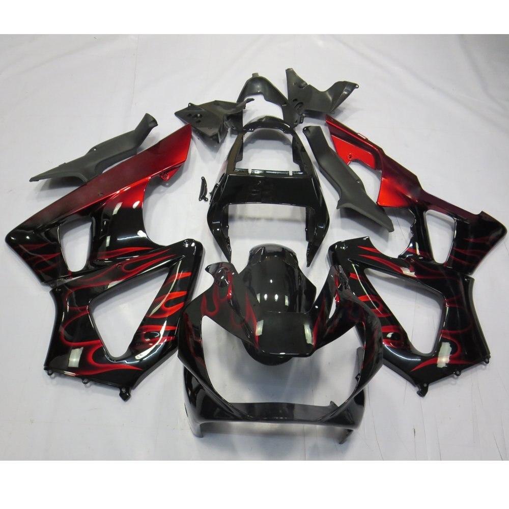 Motorbike Body Fairing For Honda CBR 929 RR CBR929RR 2000 2001 CBR900RR CBR 929RR 900RR 00 01 Full Injection Fairings UV Painted ключ king tony 1214sr