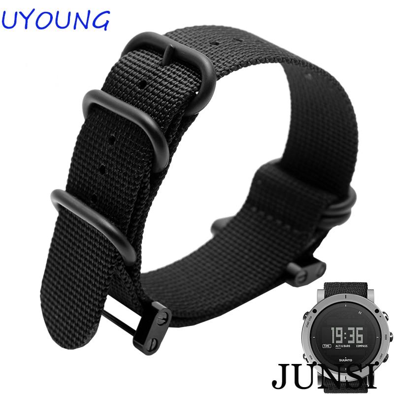 Hohe Qualität Für Suunto ätherisches Nylon Herrenuhrenarmbänder - Uhrenzubehör - Foto 1