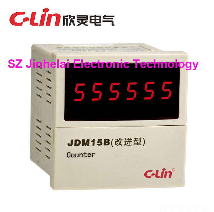 C-Lin JDM15B New and original Count relay AC220V (replace JDM15G AN-15) supra mgs 1801t