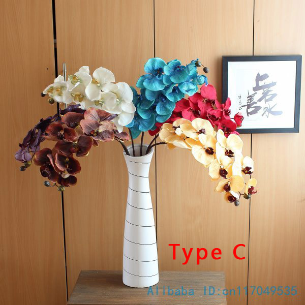 Silk Orchid Butterfly Artificial Flower for New House And Festival Decoration 1