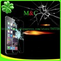 100pcs Screen Protector For iPhone 4 4S 5 5C 5S SE 6 6plus 6s 7 7 plus 0.3MM 9H explosion proof tempered glass Screen Protector