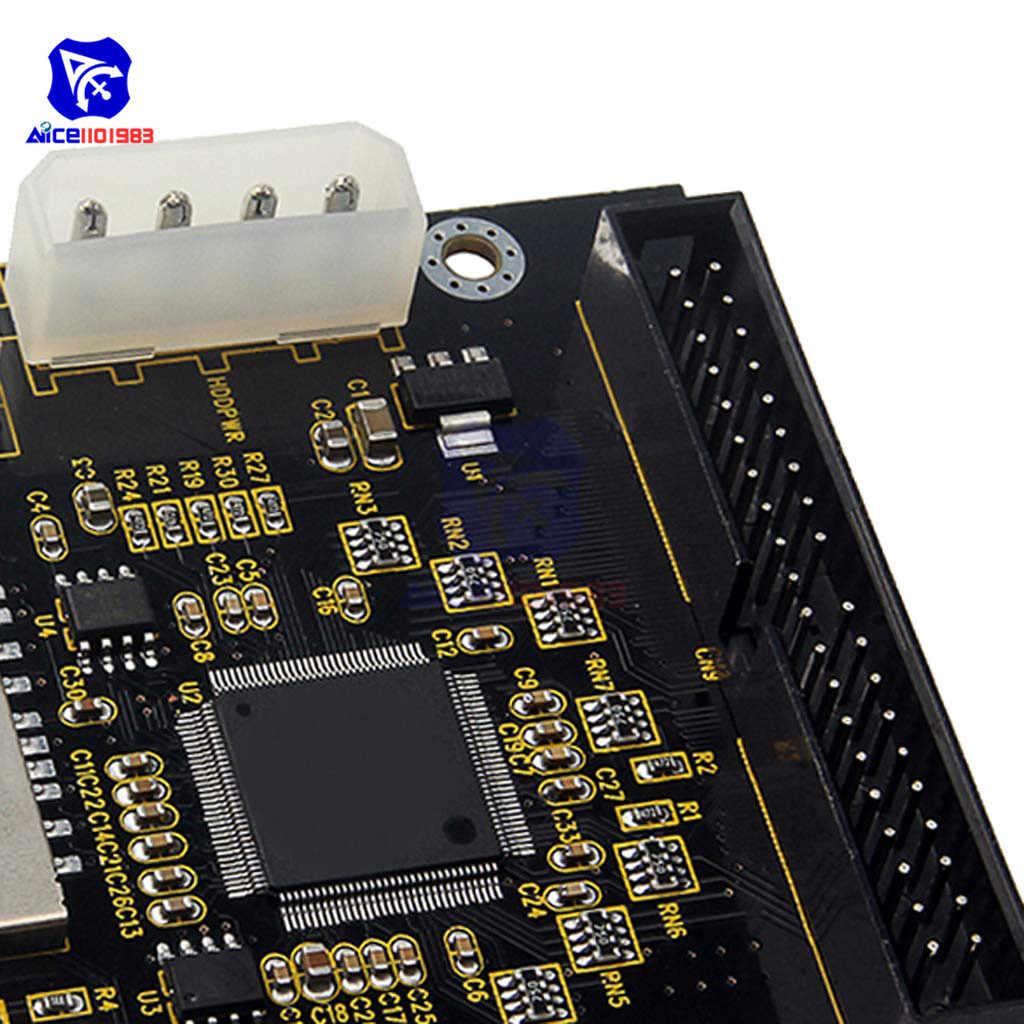 Sd Socket Om 40Pin Ide 3.5 ''Harde Schijf Adapter Kaarten Converter Voor Audrino