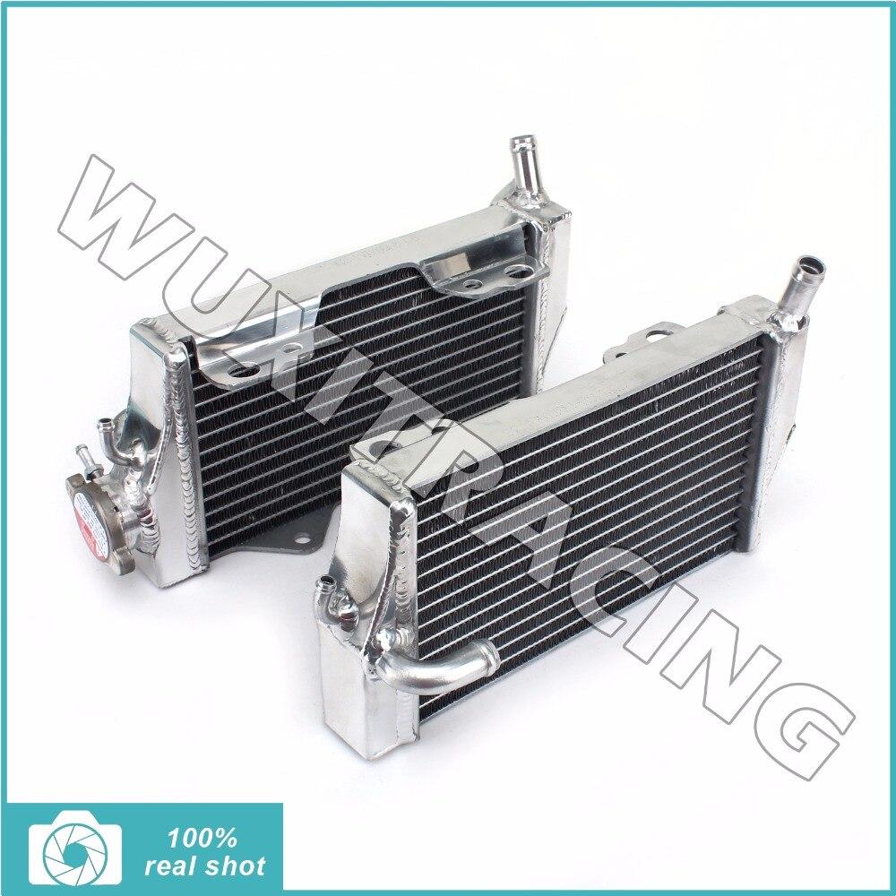 L r aluminium core new mx offroad motorcycle parts radiators cooler cooling for honda cr250