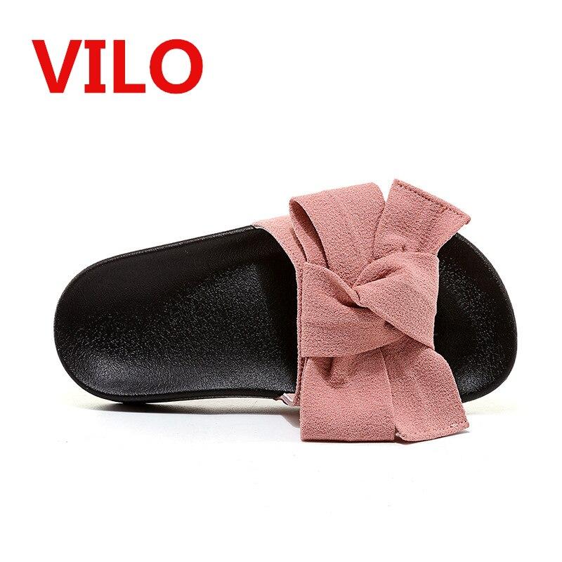 Summer Shoes Girls Slides Bow Sandals Children Butterfly ...