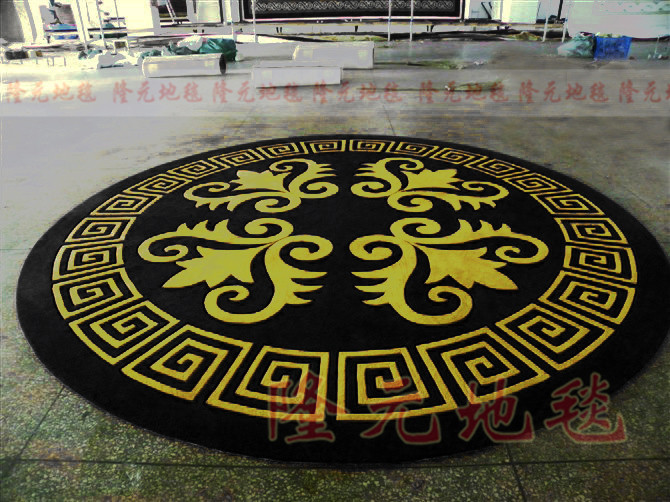 2017 The Latest Fashionable Circle Carpet, The Sitting Room The Bedroom Black Carpet , Golden Abstract Acrylic Carpets.2017 The Latest Fashionable Circle Carpet, The Sitting Room The Bedroom Black Carpet , Golden Abstract Acrylic Carpets.