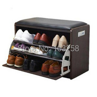 Обувницы прихожей обувь меняющейся скамейка японский крыльцо полка для обуви чаевые ковша Shoebox экспорт мебели Размеры M