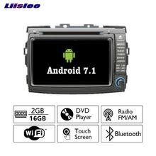 Liislee Android 7.1 2G RAM For Toyota Previa / Estima Car Radio Audio Video Multimedia DVD Player WIFI DVR GPS Navi Navigation(China)