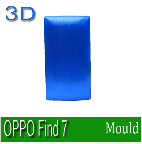 3D sublimation mold printed mould tool heat press mold for OPPO Find 7 case cover free shipping  цены