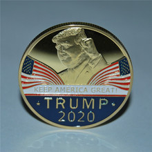 100pcs/lot DHL free shipping The United Stated President Donald Trump 2020 Keep America Great Presidential Challenge Coin