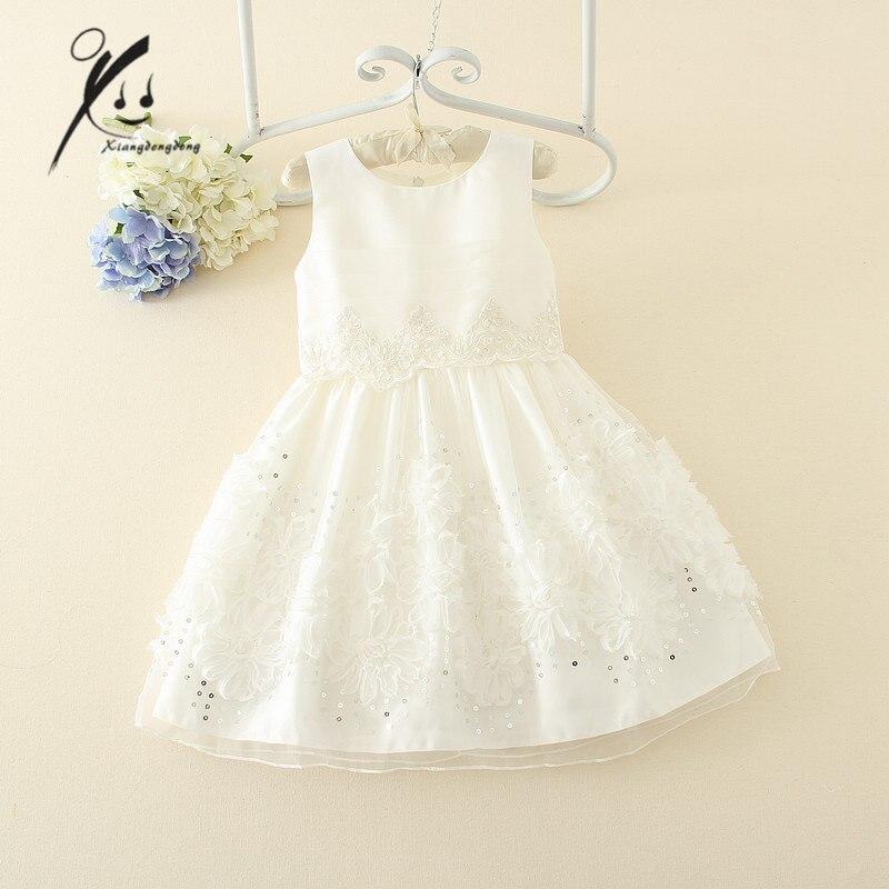 Платья белые на ребенка на свадьбу