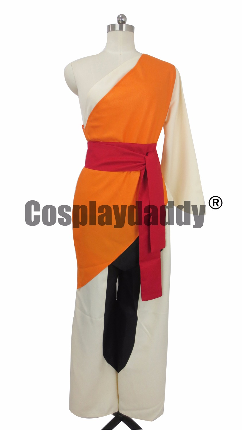 Avatar The Last Airbender Aang Outfit Cosplay Costume C018