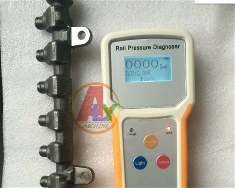 RPD100 Diesel Engine common rail pressure tester for BOSCCH DENSO DELPHI SIMENS, rail pressure testing tools magic arm