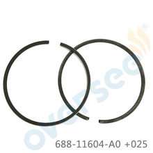 688 11604 A0 piston ring Set 025 for Yamaha outboard marine boat motor 688 11604 00