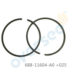 688-11604-A0 piston ring Set +025 for Yamaha outboard marine boat motor 688-11604-00 aftermarket part