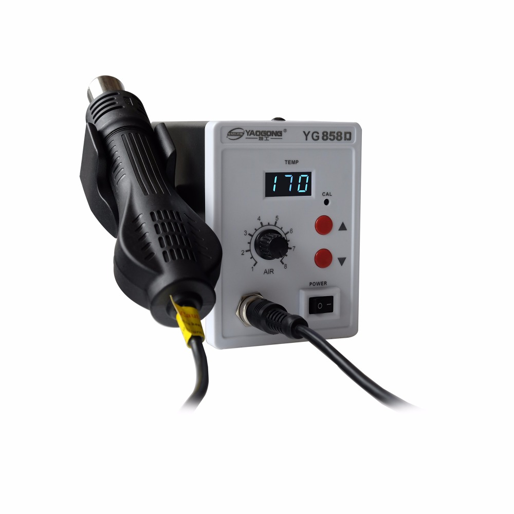 YG 858D Digital Hot Air Smd Rework Station Soldering Station in Soldering Stations from Tools